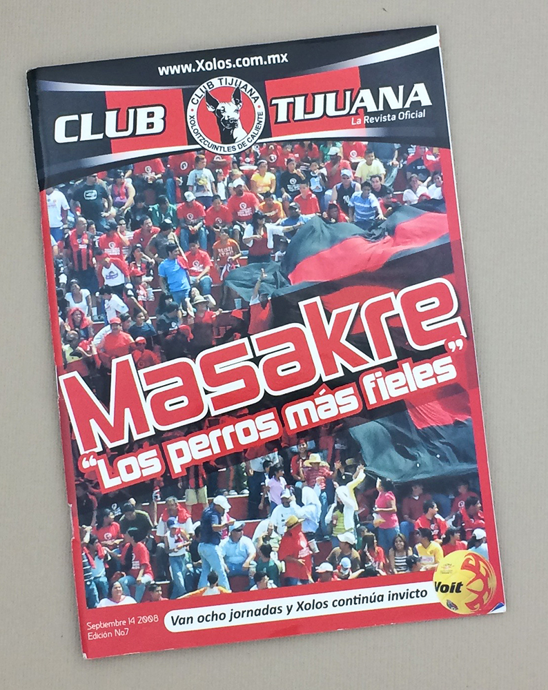 Sept 14th, 2008 Xolos Program