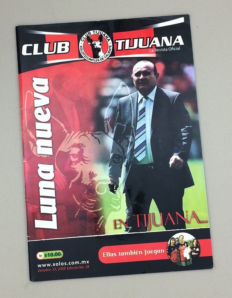 October 25th, 2009 Xolos Program
