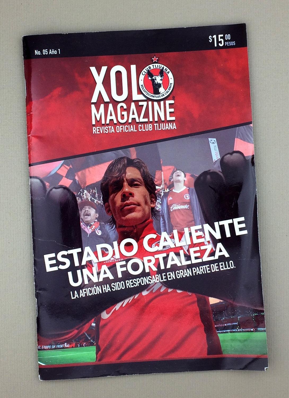 Xolos Magazine 2015 Año 1 No. 5