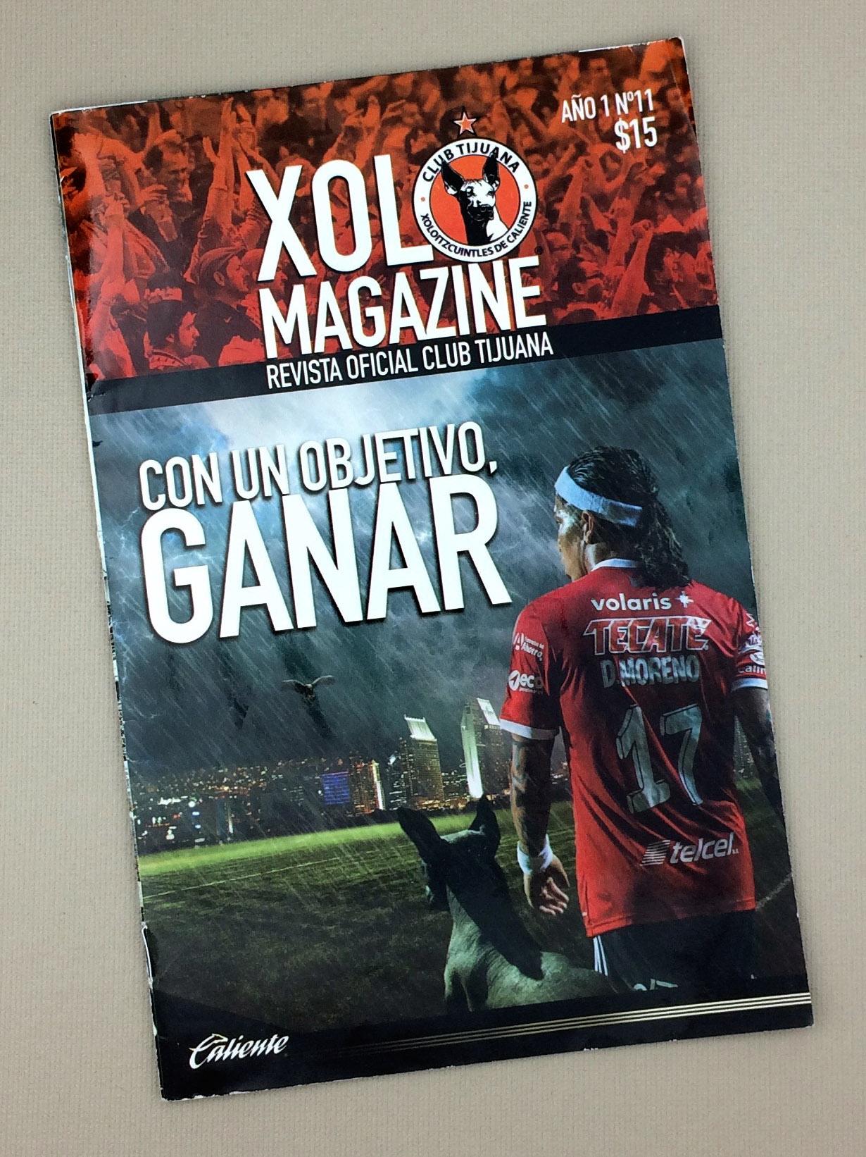 Xolos Magazine 2015 Año 1 No. 11