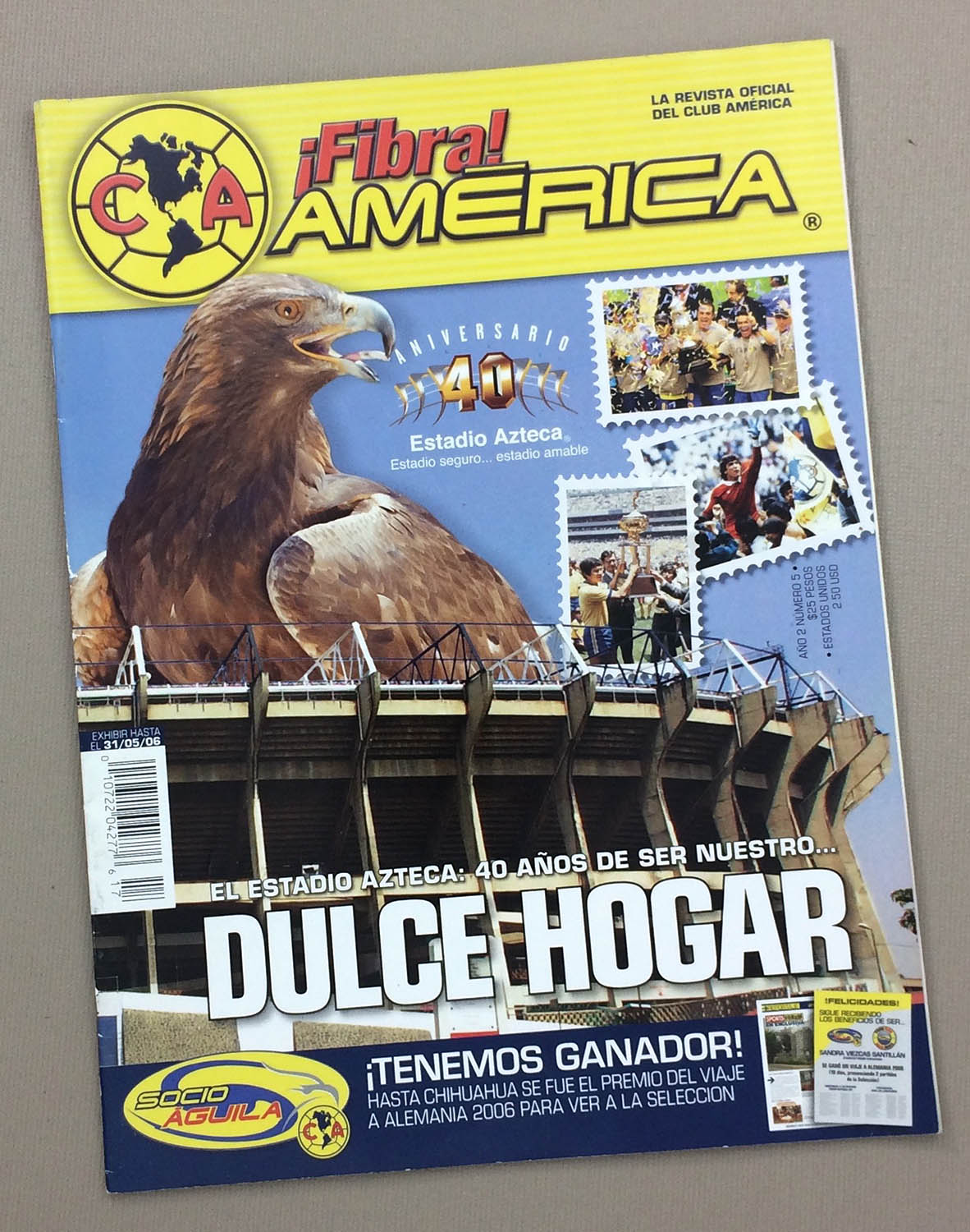 Club America Fibre May 31st 2006