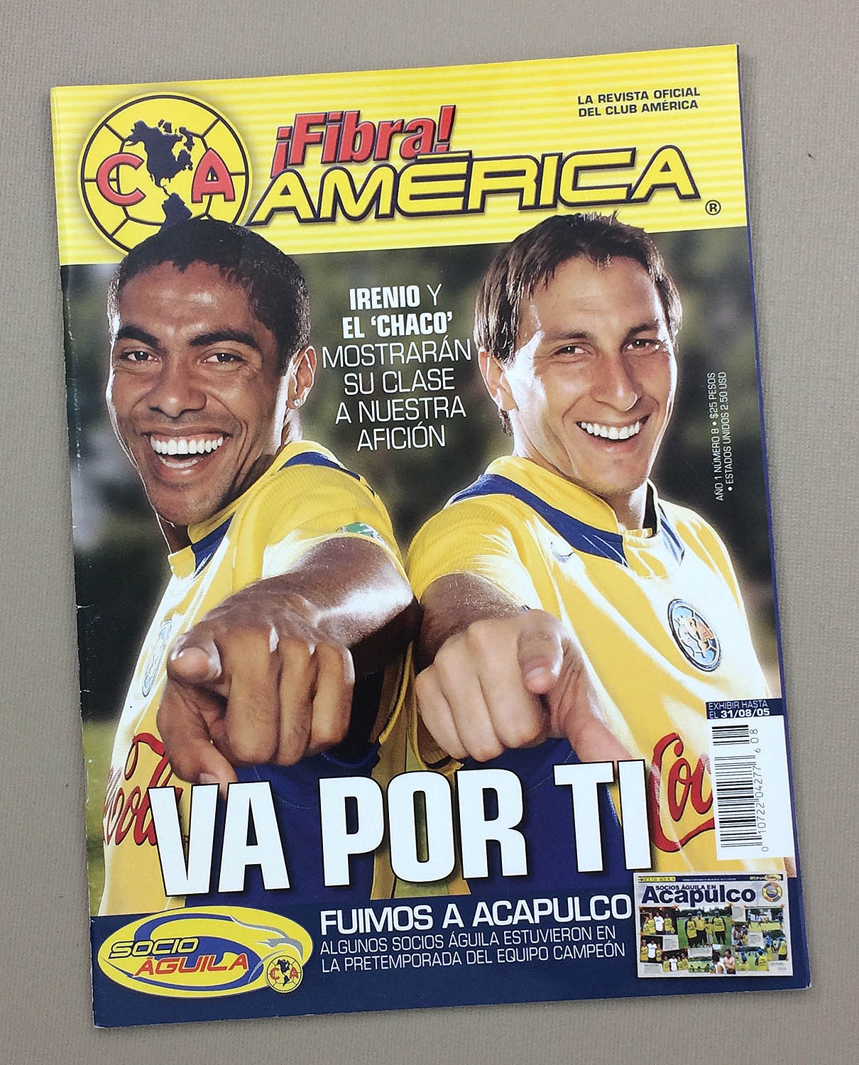 Club America Fibre August 31st 2005