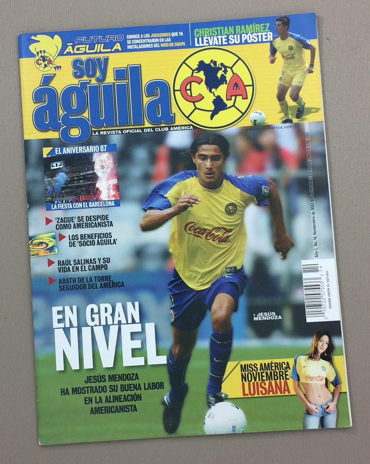 Club America Soy Aguila Nov 30th 2003
