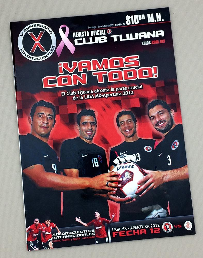 October 7th, 2012 Xolos Program