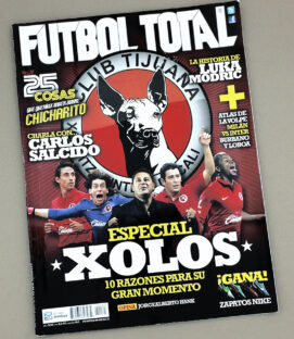 2012 Tijuana Xolos Issue of Futbol Total