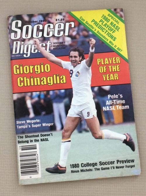 Soccer Digest October 1980