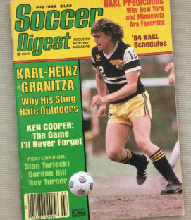 Soccer Digest July 1984