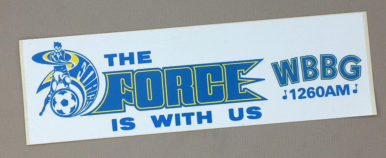 Cleveland Force Bumper Sticker