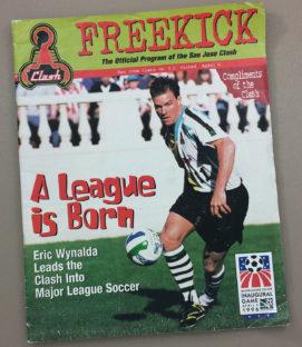 MLS Inaugural Game Program
