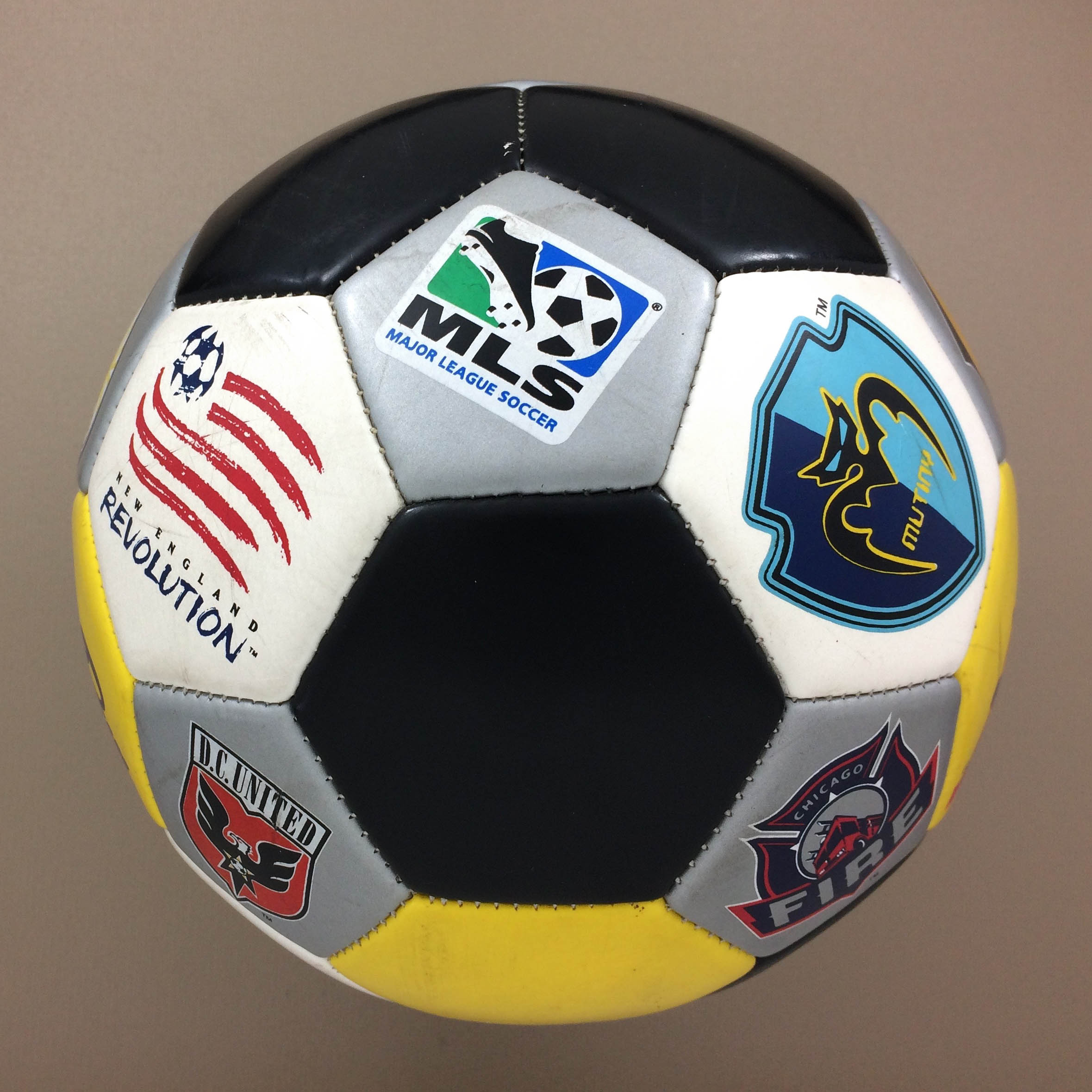 MLS Logo Ball circa 2000