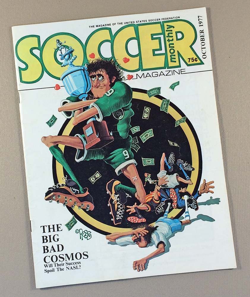 Soccer Monthly Magazine October 1977