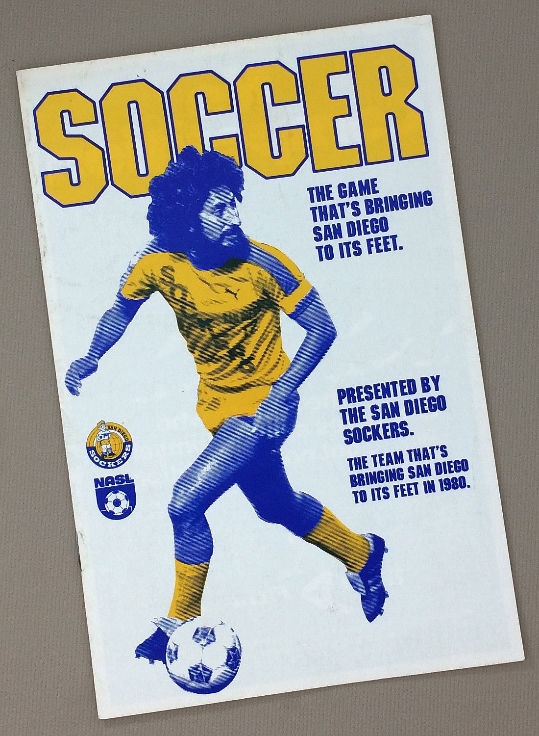 San Diego Sockers 1980 Season Ticket Brochure