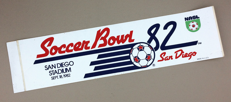 Soccer Bowl 1982 Bumper Sticker