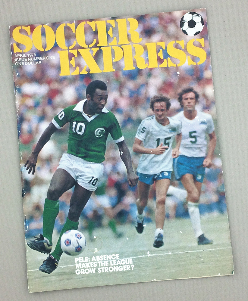 Soccer Express Magazine April 1978