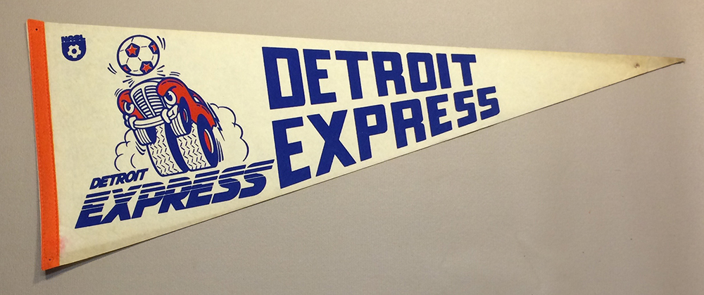 1978 Detroit Express Team Pennant