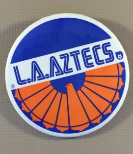 Los Angeles Aztecs Team Button