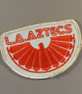 Los Angeles Aztecs Team Patch
