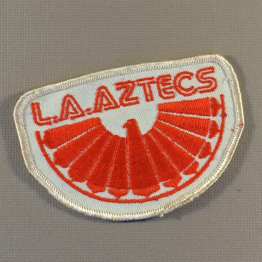 Los Angeles Aztecs Team Patch