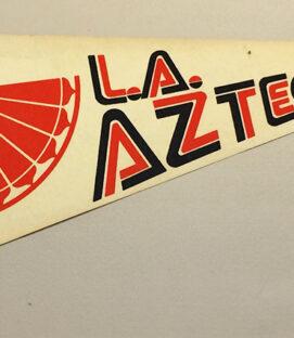 1977 LA Aztecs Team Pennant