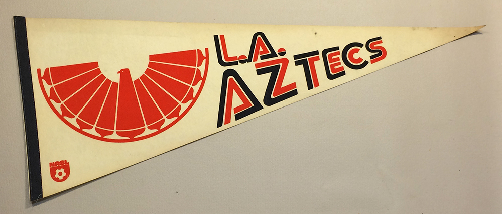 1977 LA Aztecs Team Pennant