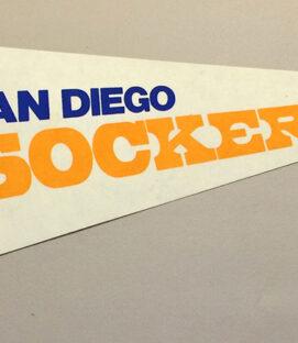 1978 San Diego Sockers Team Pennant