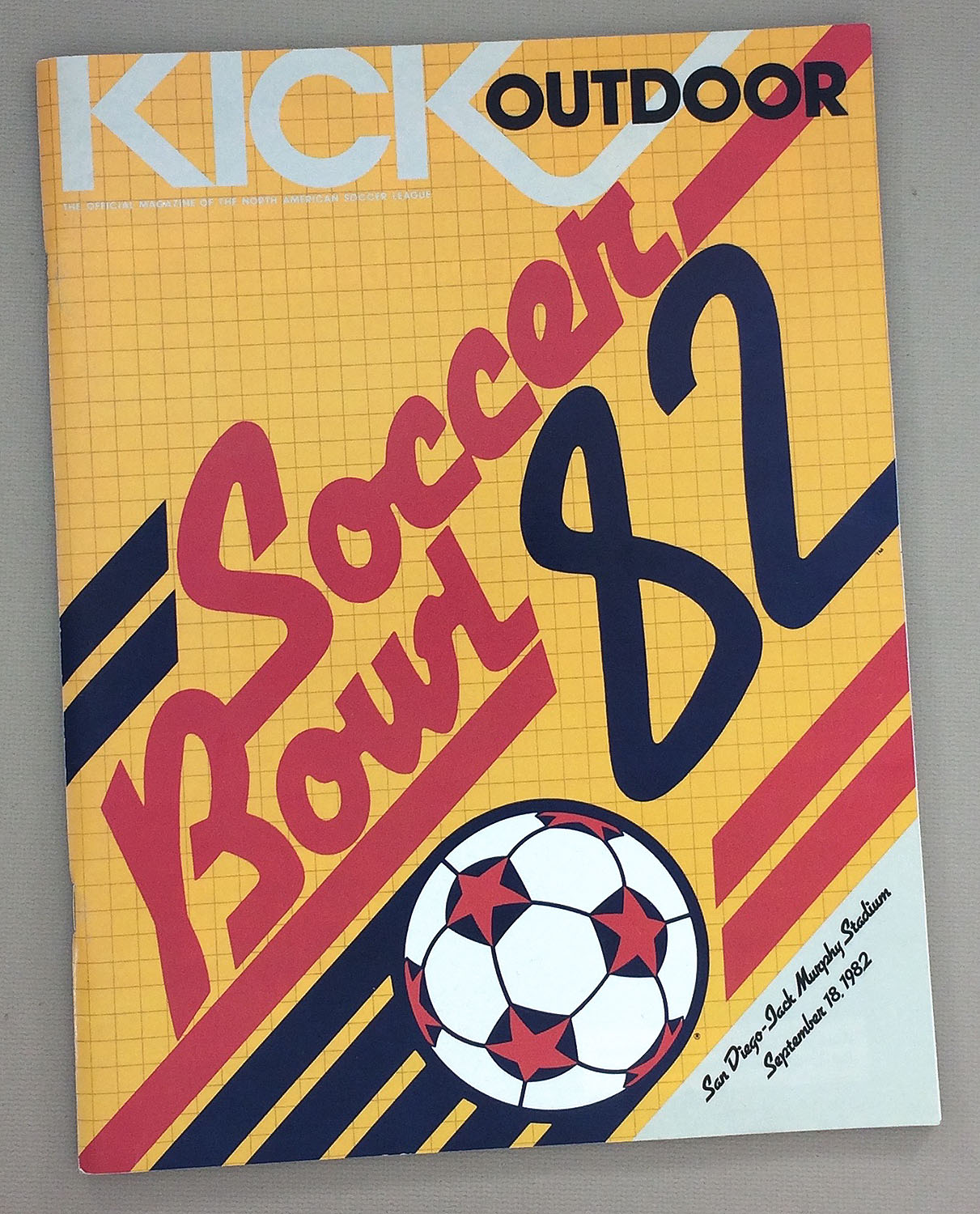 Soccer Bowl '82 Game Program
