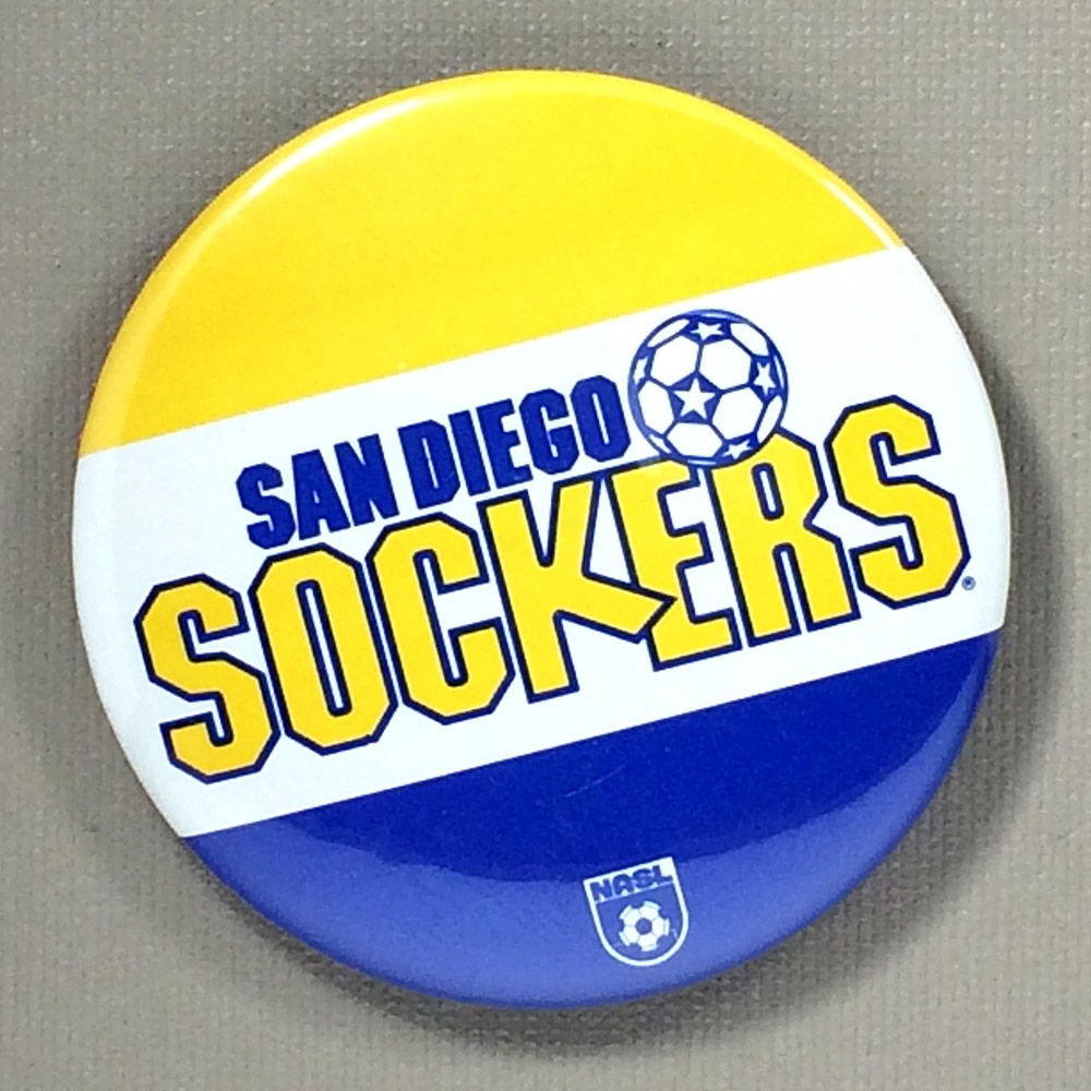 San Diego Sockers NASL Team Button