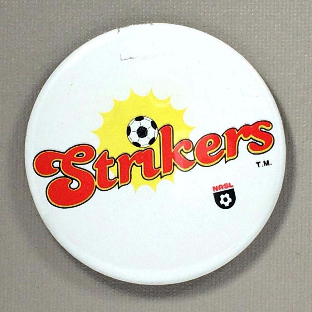 Ft Lauderdale Strikers Team Button