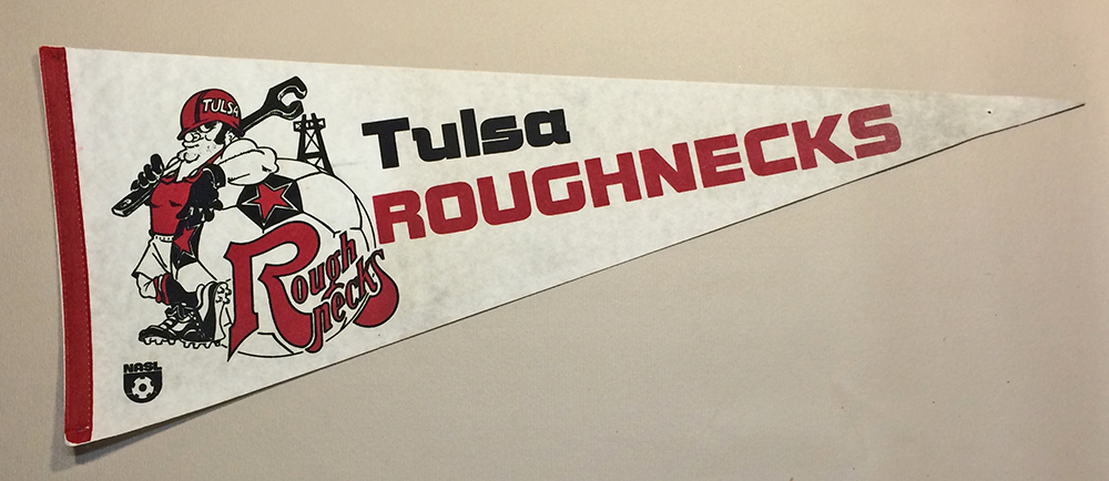1978 Tulsa Roughnecks Team Pennant