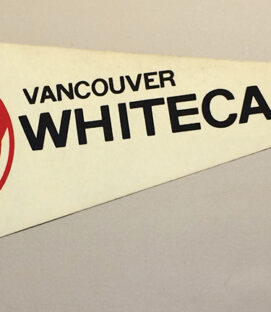 1978 Vancouver Whitecaps Team Pennant