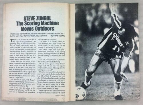 Steve Zungul The Scoring Machine