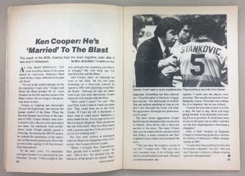 Ken Cooper Married to the Blast