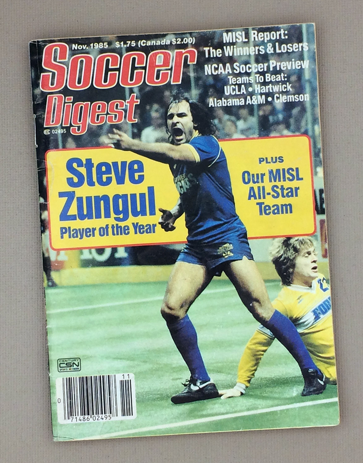 Soccer Digest November 1985