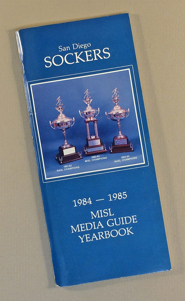San diego sockers 1984 85 media guide for League two table 1984 85