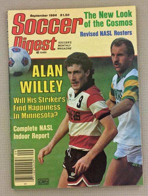 Soccer Digest September 1984