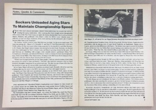 Sockers unload aging stars