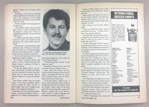 Gary Allison Goalkeeper
