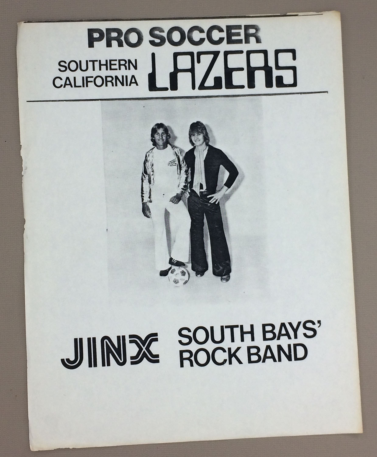 Southern California Lazers Band 1978 Flyer