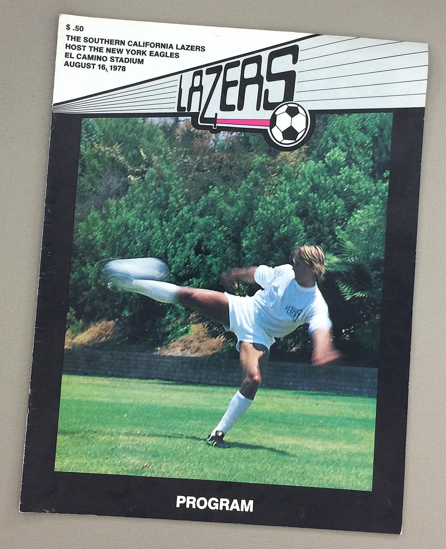 LA Lazers NY Eagles 1978 Program