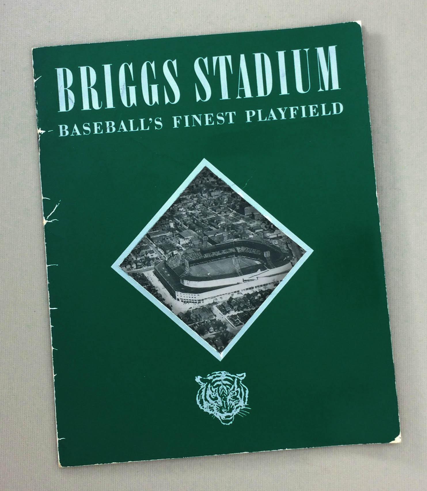 Briggs Stadium Baseball's Finest Playfield