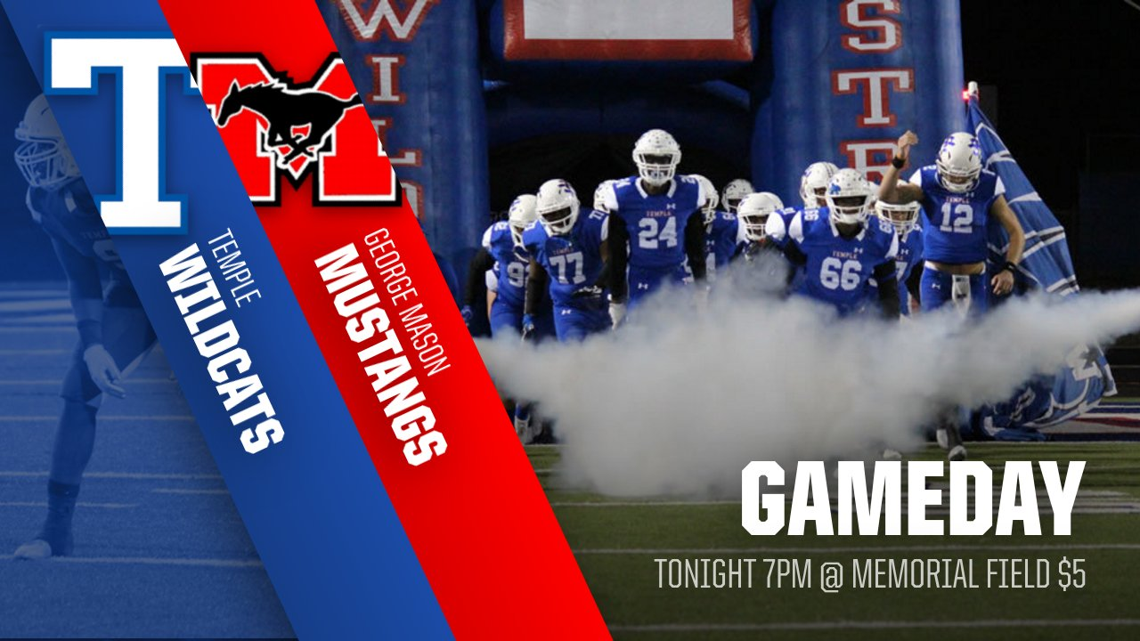 Gameday – Tonight! Football vs. George Mason