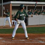 Player steps up to bat
