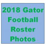 2018 Gator Football Roster