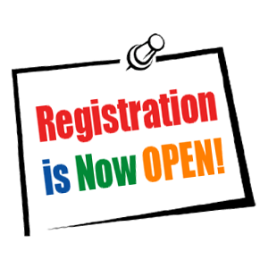Registration is now open for 2018/2019