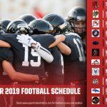 USC 2019 Schedule