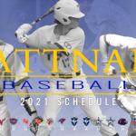 2021 Baseball Schedule released