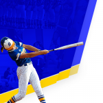 SOFTBALL BACKGROUND (RIGHT SIDE)