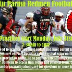 Join Parma Redmen Football