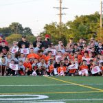 "PSH Athletic Department hosts ""Future Redmen""  Youth night at our football game"