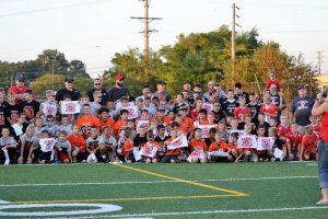 "PSH Athletic Department's ""Future Redmen"" Youth Night Pictures"
